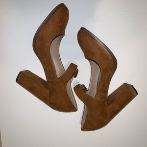 Mix no. 6 light brown Mary Jane, size 8
